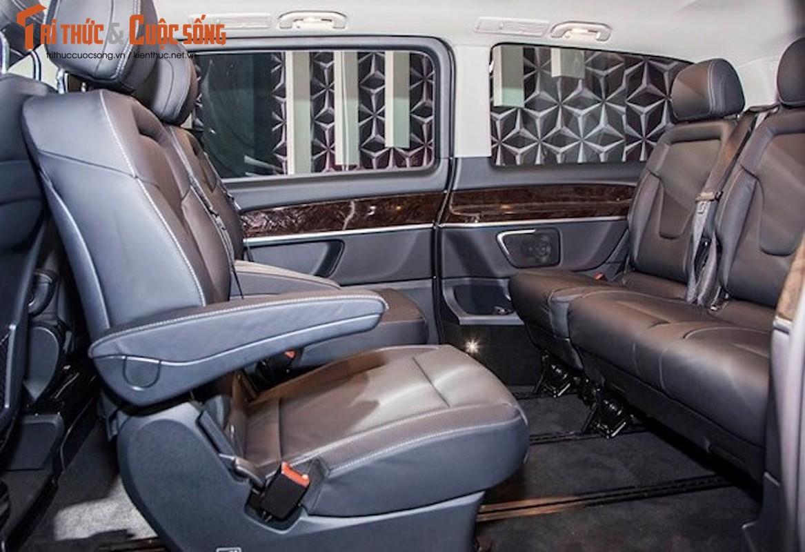 Xe van hang sang Mercedes V220 CDI do body doc nhat VN-Hinh-5