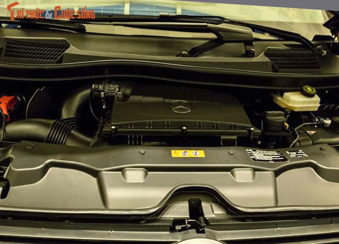 Xe van hang sang Mercedes V220 CDI do body doc nhat VN-Hinh-6