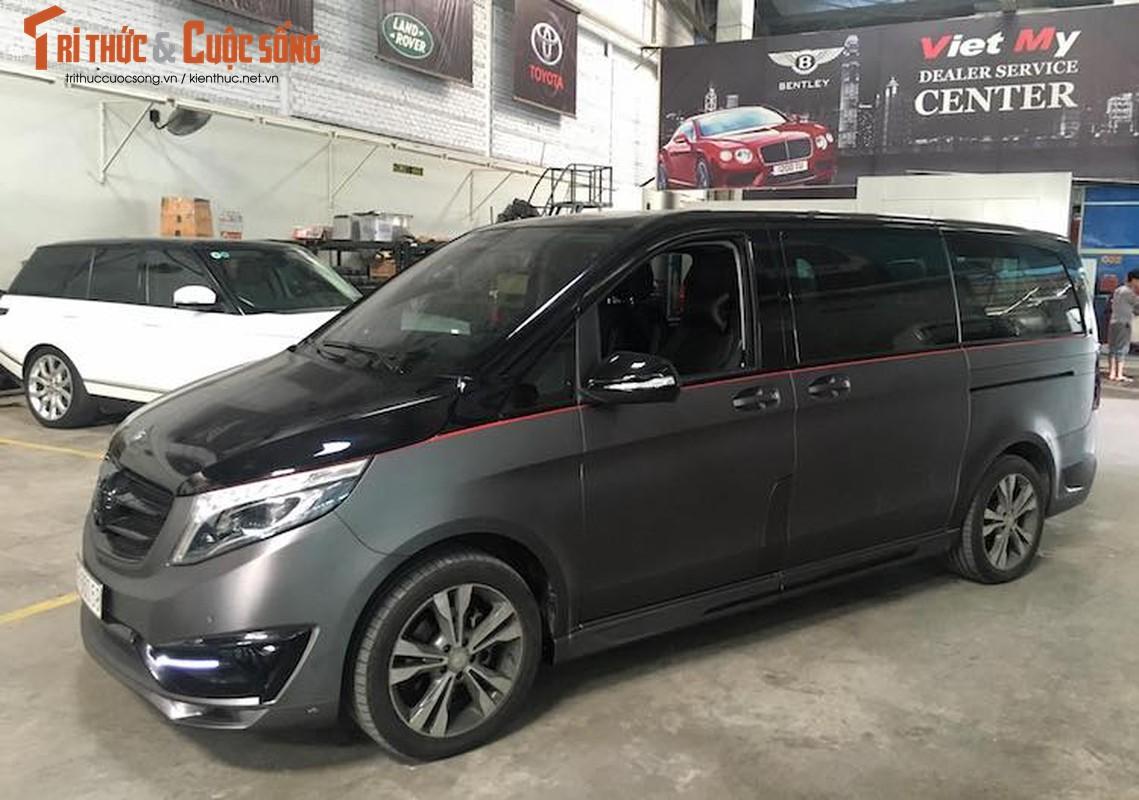 Xe van hang sang Mercedes V220 CDI do body doc nhat VN