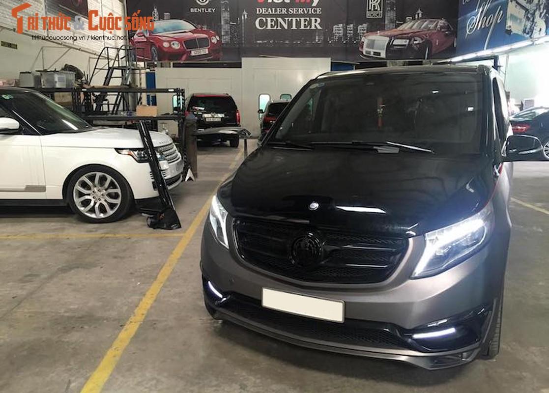 Xe van hang sang Mercedes V220 CDI do body doc nhat VN-Hinh-2