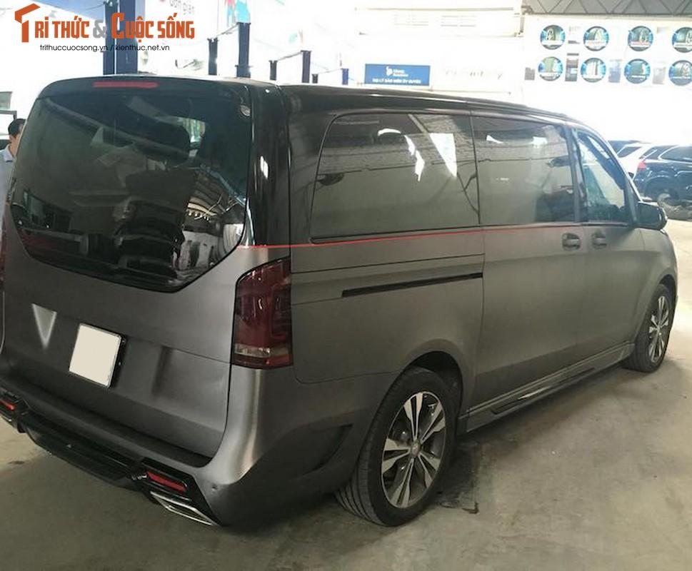 Xe van hang sang Mercedes V220 CDI do body doc nhat VN-Hinh-7