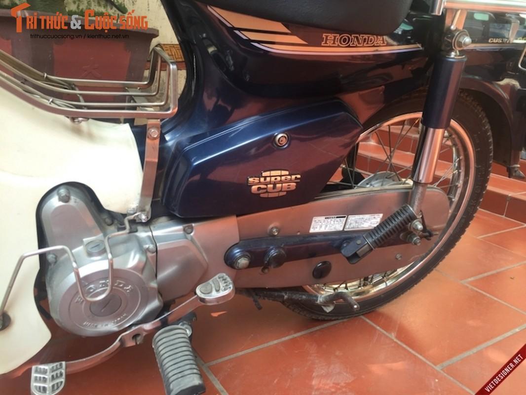 """Cap doi Honda Cub 82 hang doc """"con zin"""" tai Ha Noi-Hinh-4"""