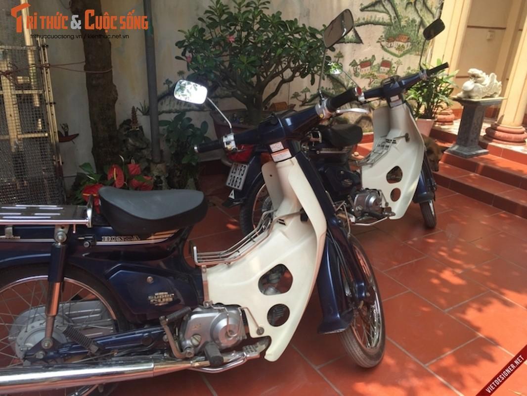 """Cap doi Honda Cub 82 hang doc """"con zin"""" tai Ha Noi-Hinh-8"""