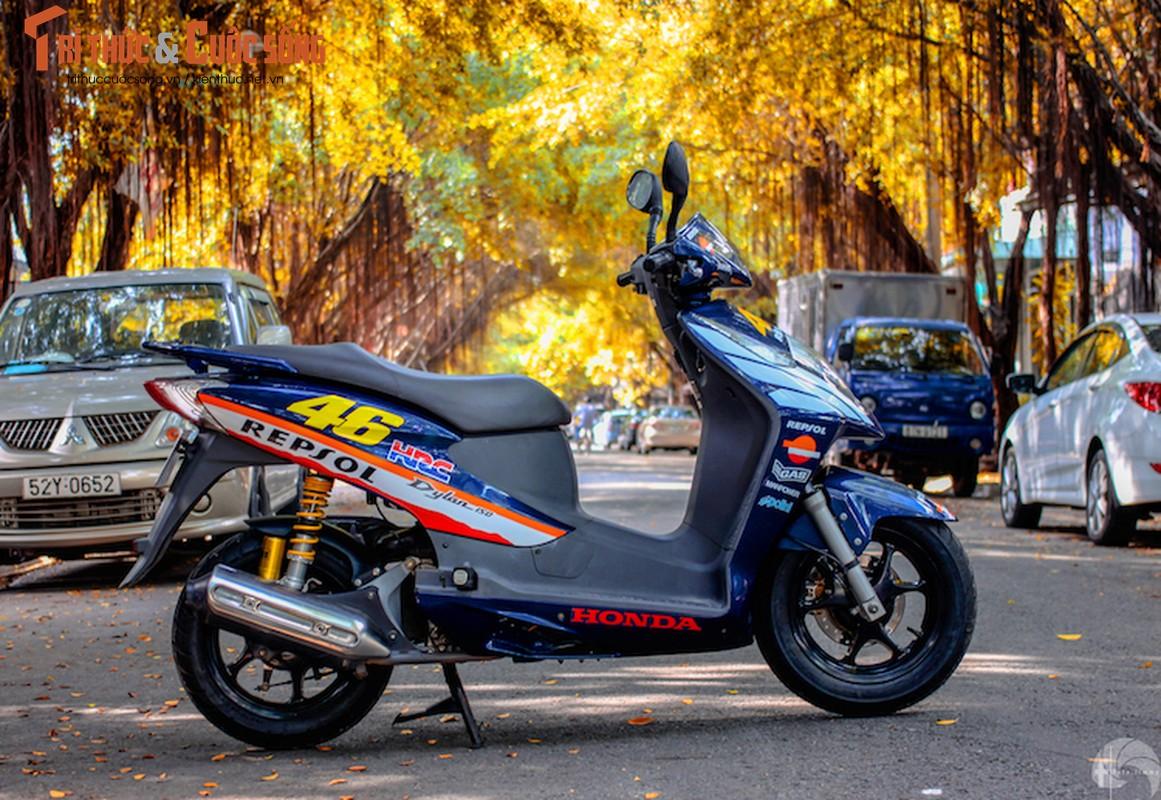 Honda Dylan sau hon 10 nam van day