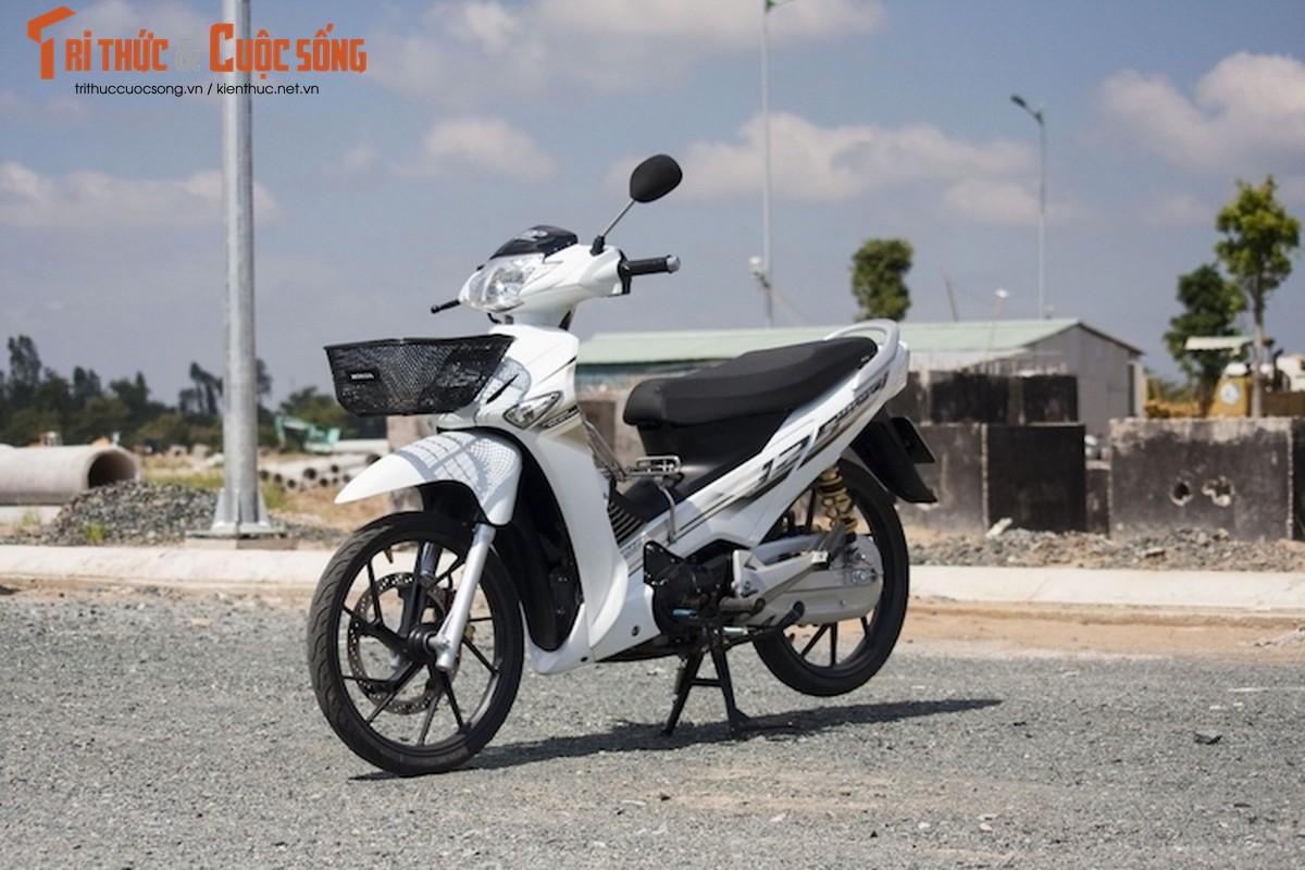 "Biker Viet ""bien hinh"" Honda Future Neo thanh Wave 125i Thai"