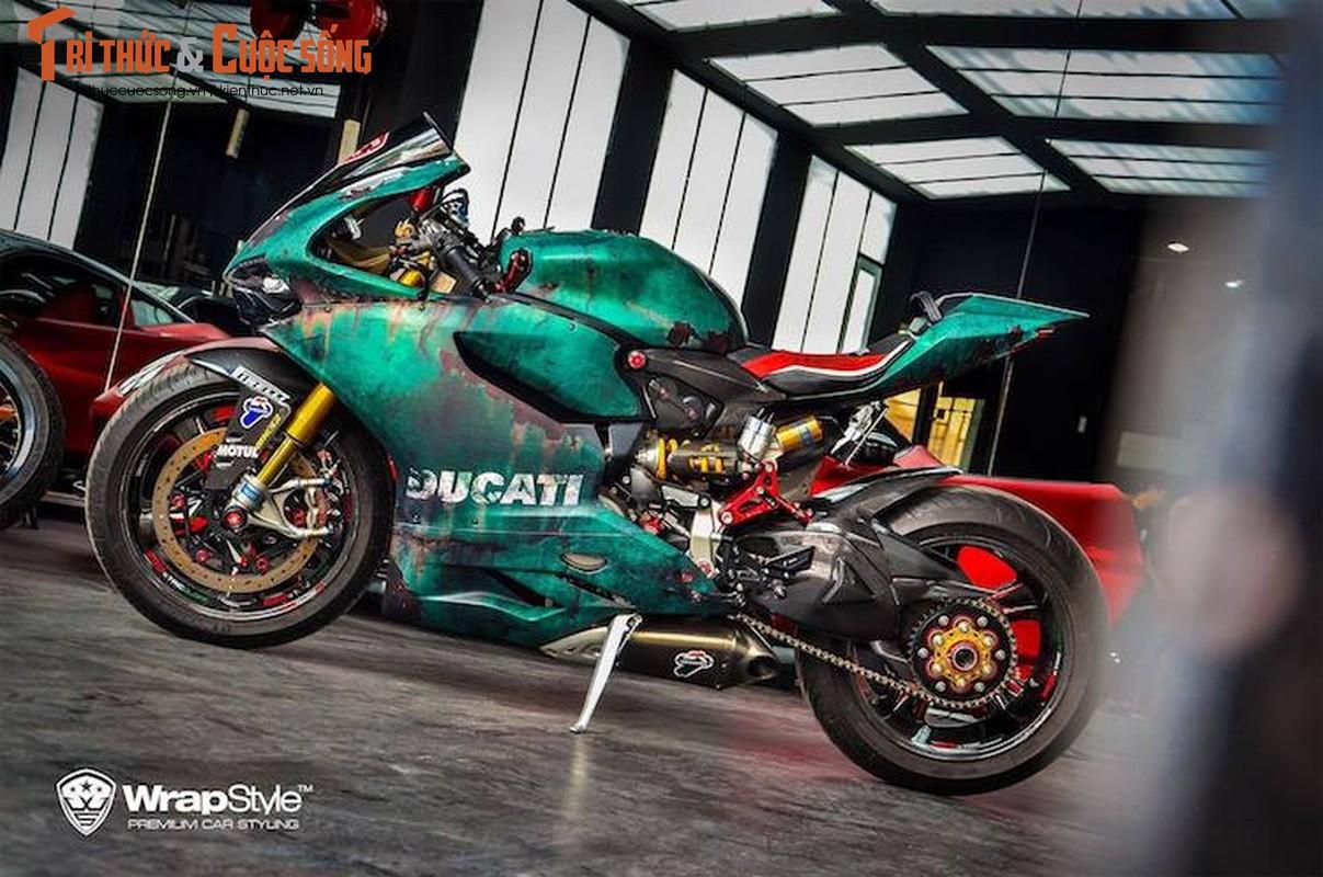 "Sieu moto Ducati 1199 do ""ri set"" cuc doc o Sai Gon"