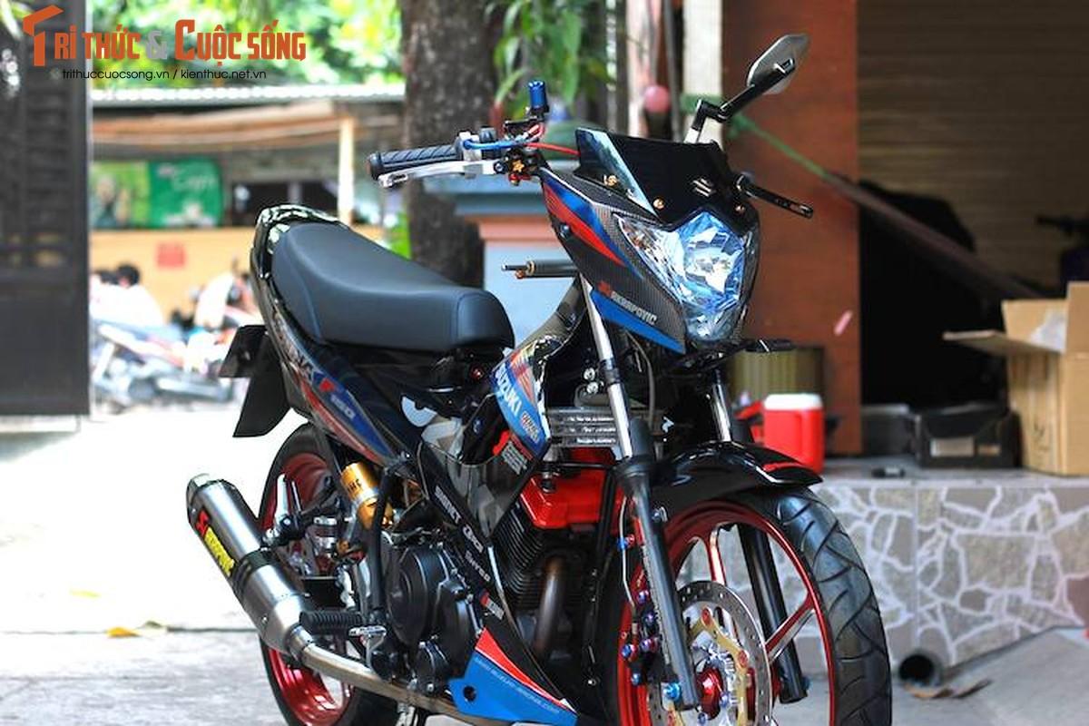 """""""Xe no"""" Suzuki Satria F150 do gan 100 trieu tai Sai Gon-Hinh-2"""