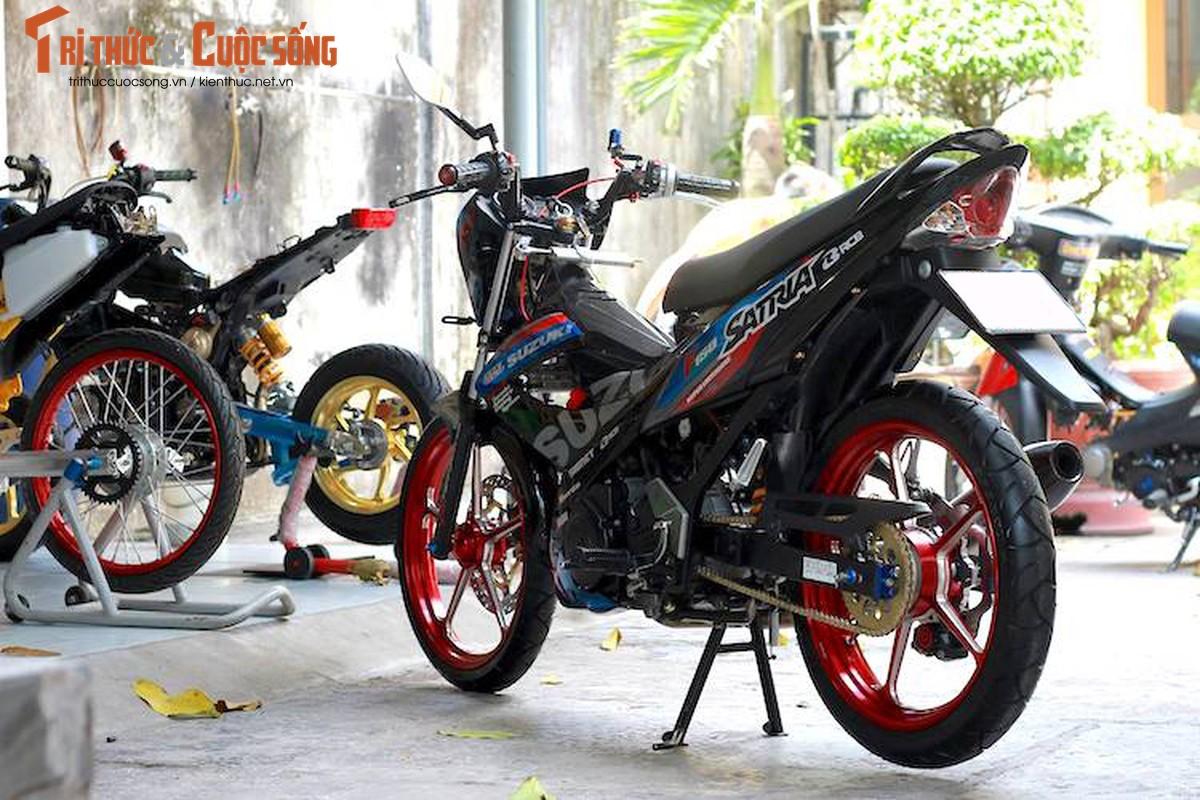 """""""Xe no"""" Suzuki Satria F150 do gan 100 trieu tai Sai Gon-Hinh-9"""