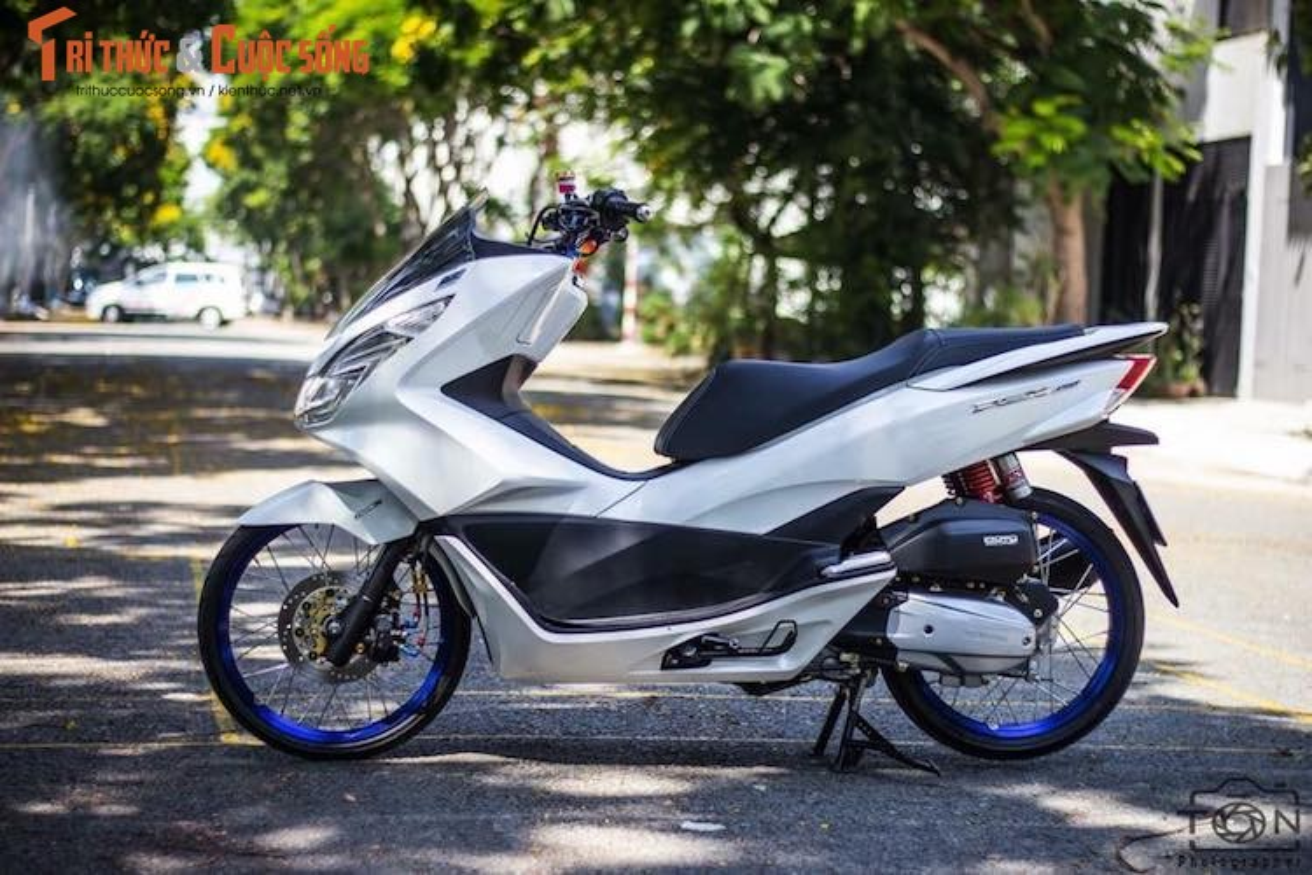 Honda PCX 150 do tinh te, dam chat choi o Sai Gon-Hinh-2
