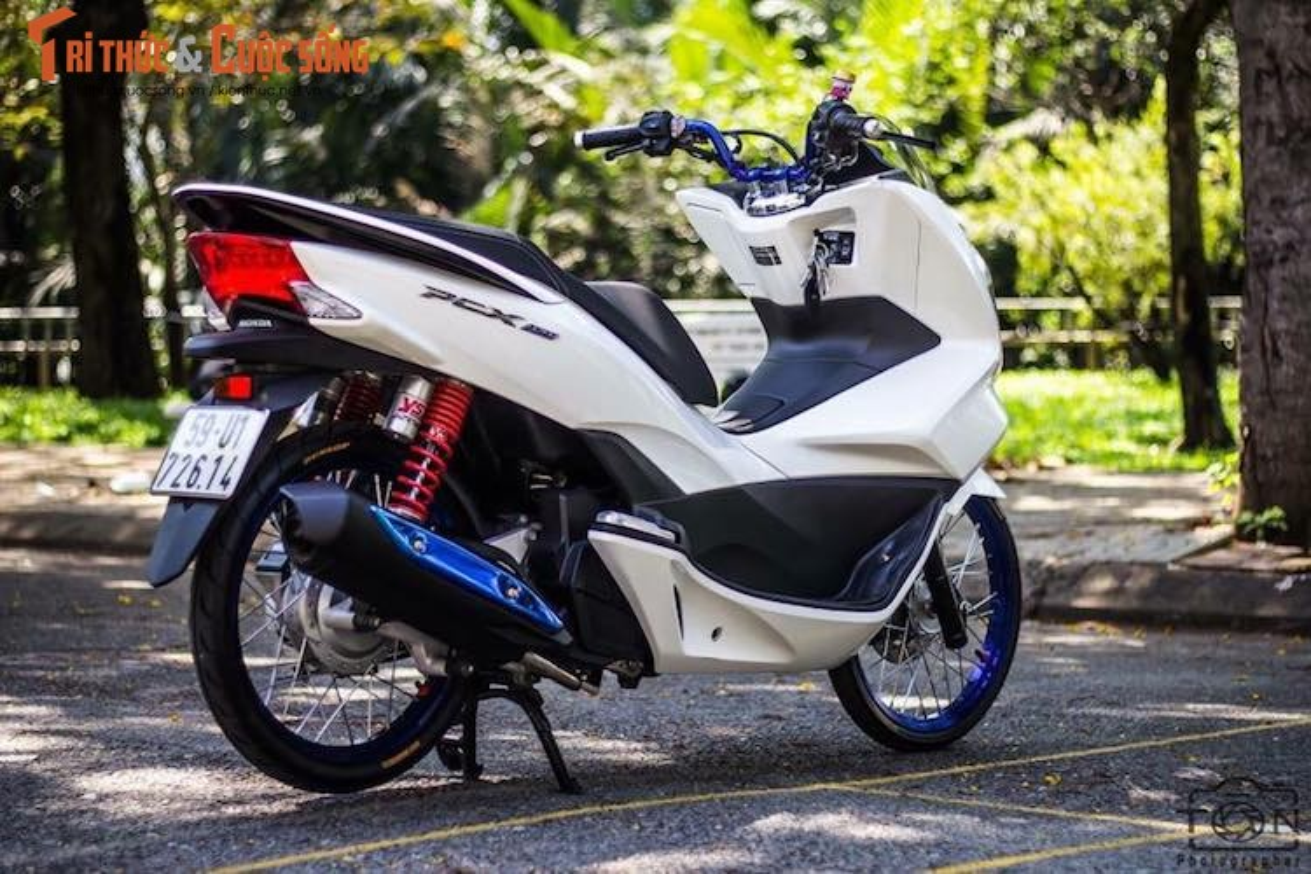 Honda PCX 150 do tinh te, dam chat choi o Sai Gon-Hinh-3