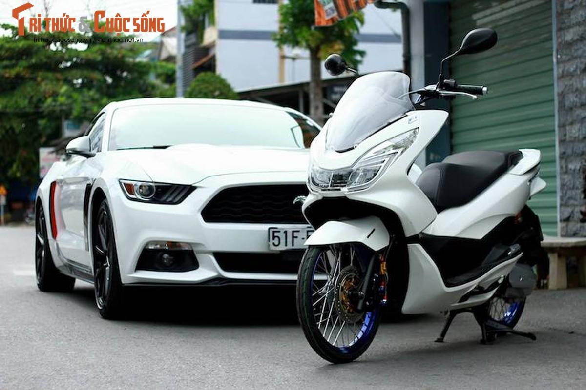 Honda PCX 150 do tinh te, dam chat choi o Sai Gon-Hinh-6