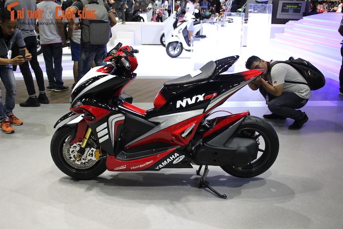 """Yamaha NVX do sieu moto """"cuc khung"""" tai Viet Nam-Hinh-2"""
