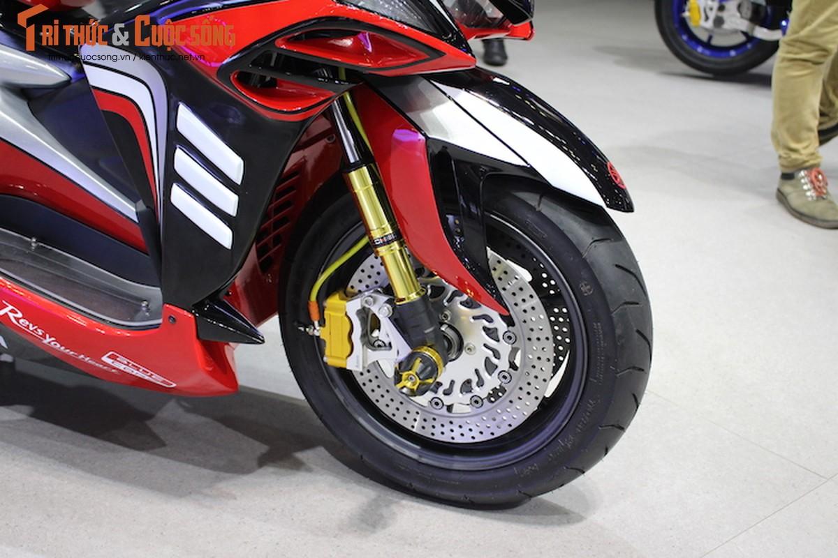 """Yamaha NVX do sieu moto """"cuc khung"""" tai Viet Nam-Hinh-4"""