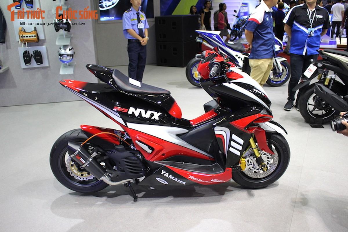 """Yamaha NVX do sieu moto """"cuc khung"""" tai Viet Nam-Hinh-6"""