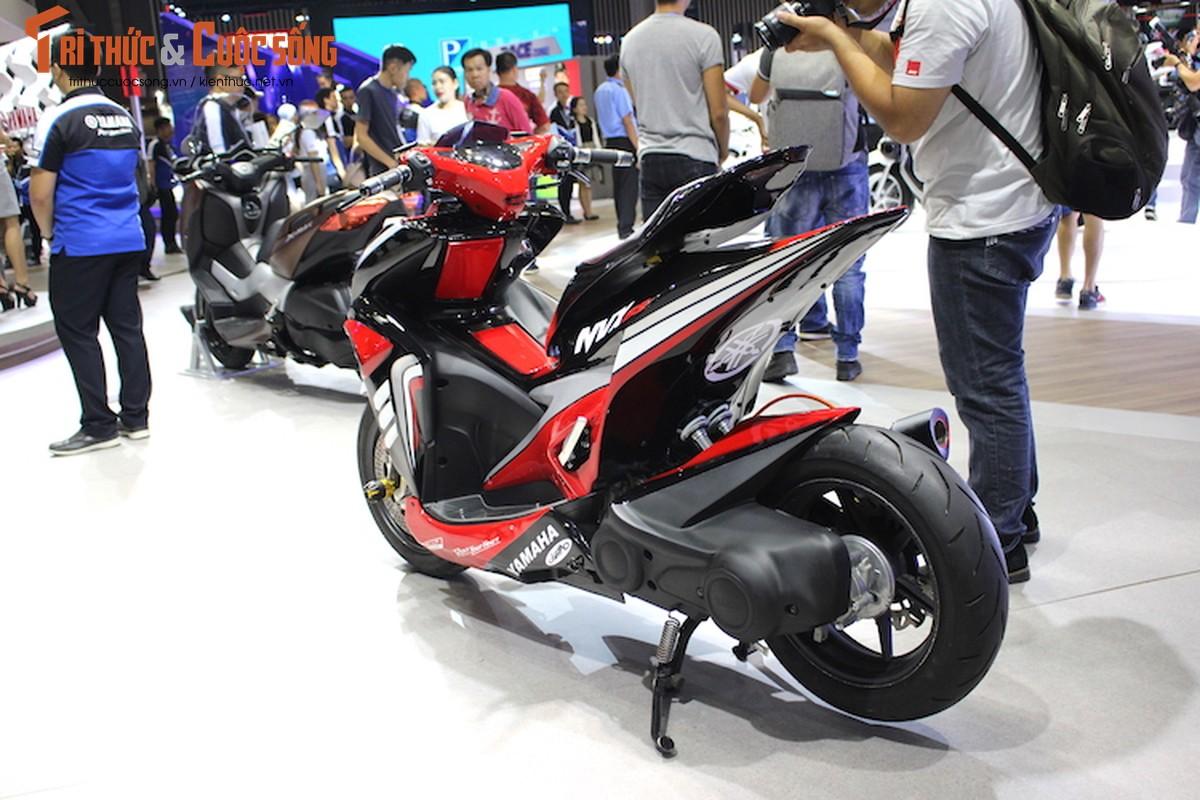 """Yamaha NVX do sieu moto """"cuc khung"""" tai Viet Nam-Hinh-8"""