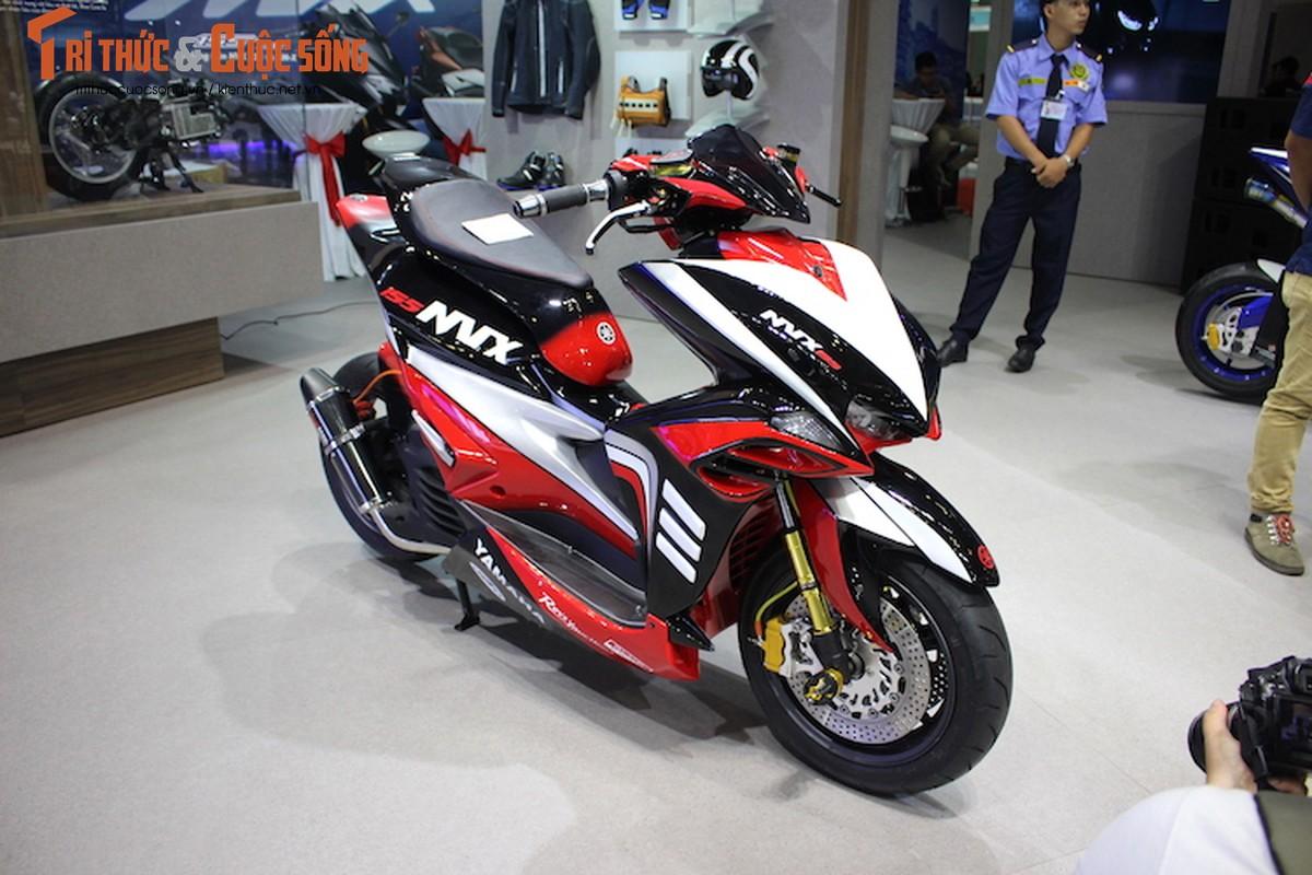 """Yamaha NVX do sieu moto """"cuc khung"""" tai Viet Nam"""