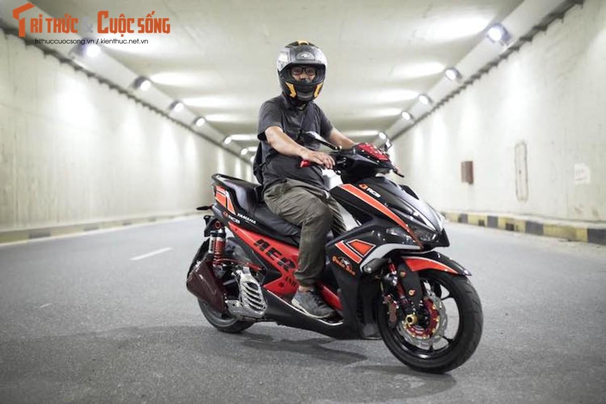 """Can canh Yamaha NVX 155 do """"sieu chat"""" tai Viet Nam"""