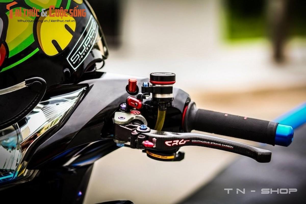 """Yamaha Exciter 135 """"do kieng"""" cuc dep tai Viet Nam-Hinh-3"""
