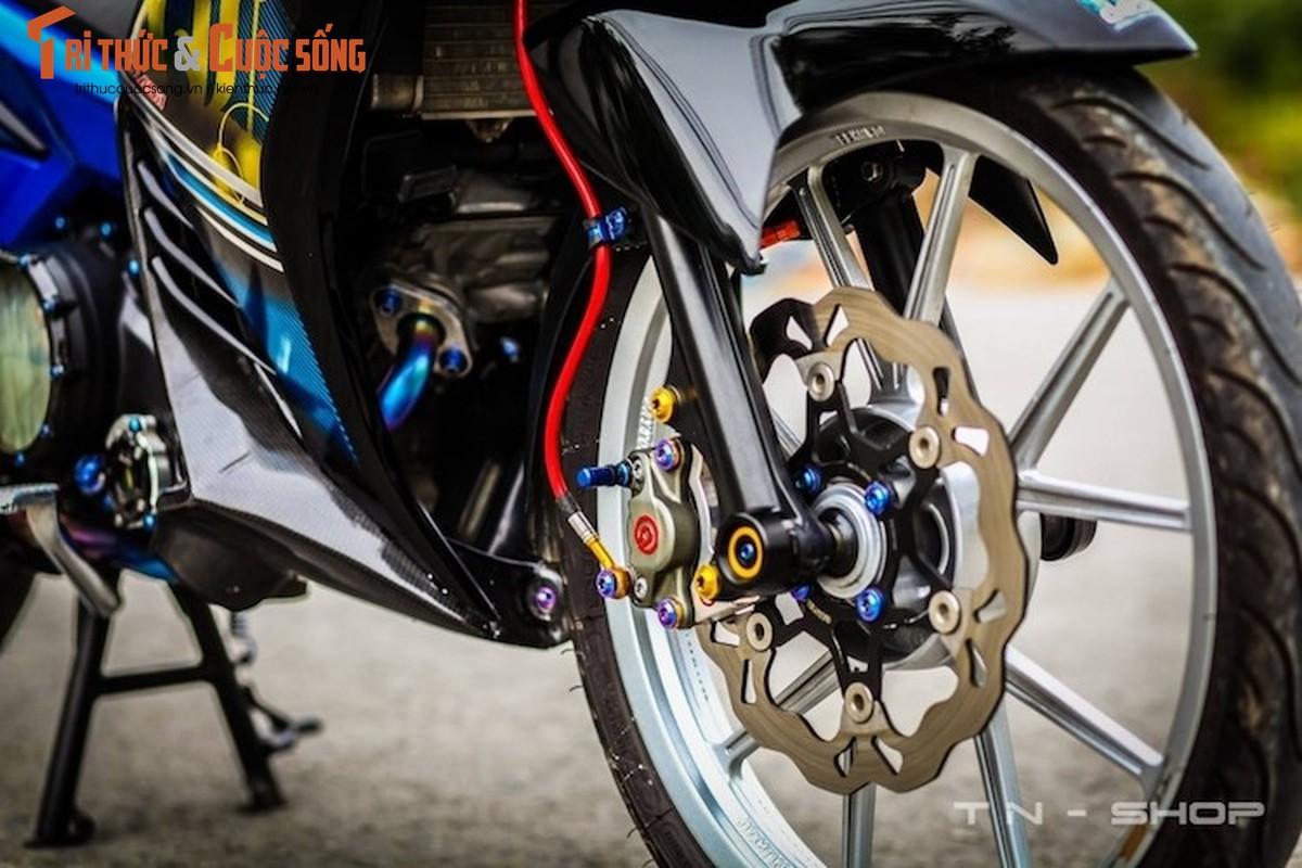 """Yamaha Exciter 135 """"do kieng"""" cuc dep tai Viet Nam-Hinh-4"""