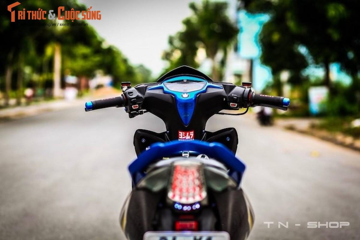 """Yamaha Exciter 135 """"do kieng"""" cuc dep tai Viet Nam-Hinh-9"""