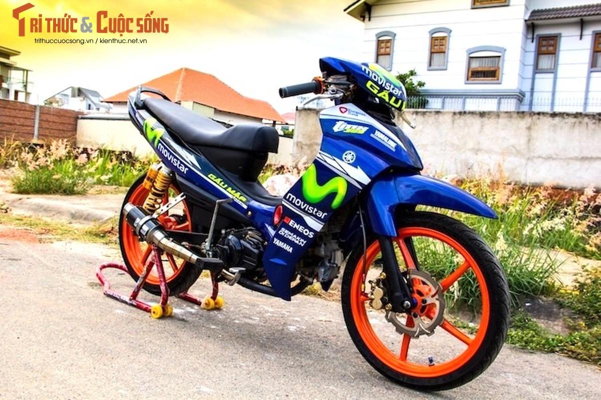 "Yamaha Jupiter MX ""lot xac"" xe dau khung tai Viet Nam"