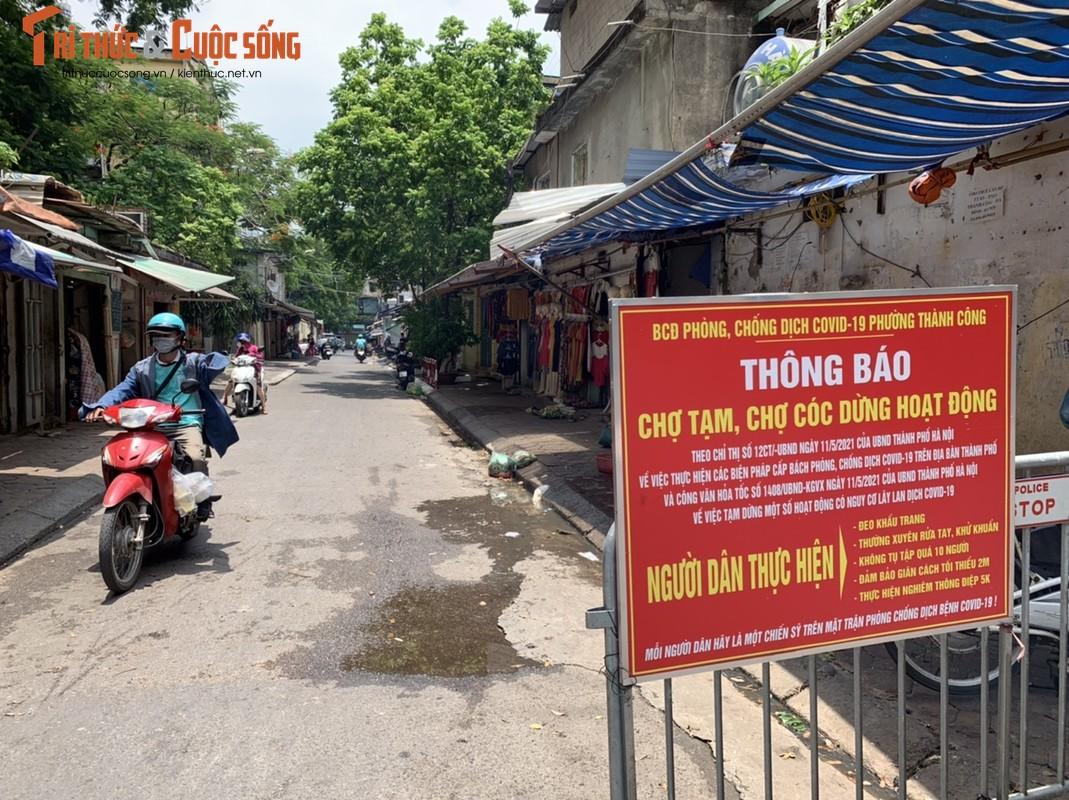 1001 kieu chong COVID-19 o cho dan sinh Ha Noi