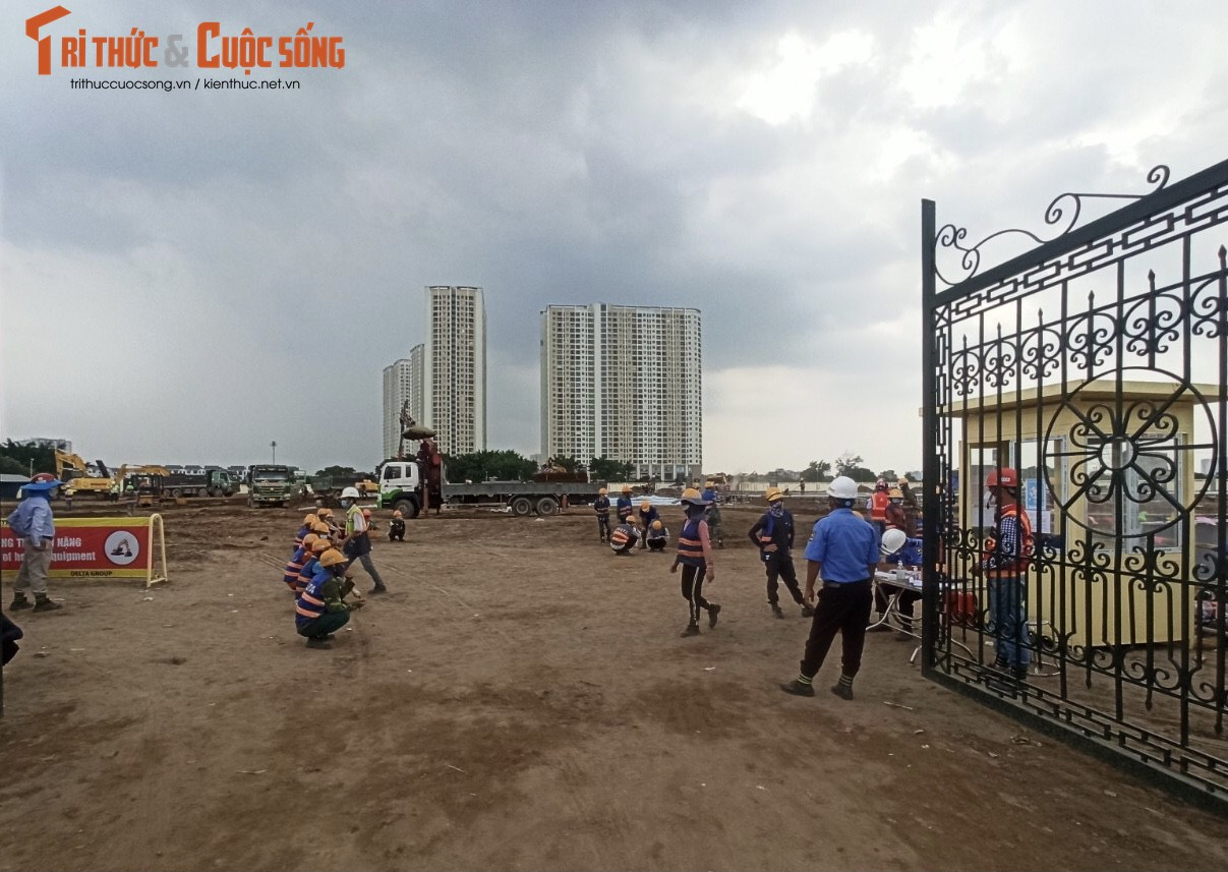 Cong truong xay dung Benh vien da chien lon nhat Ha Noi, quy mo 500 giuong benh-Hinh-4
