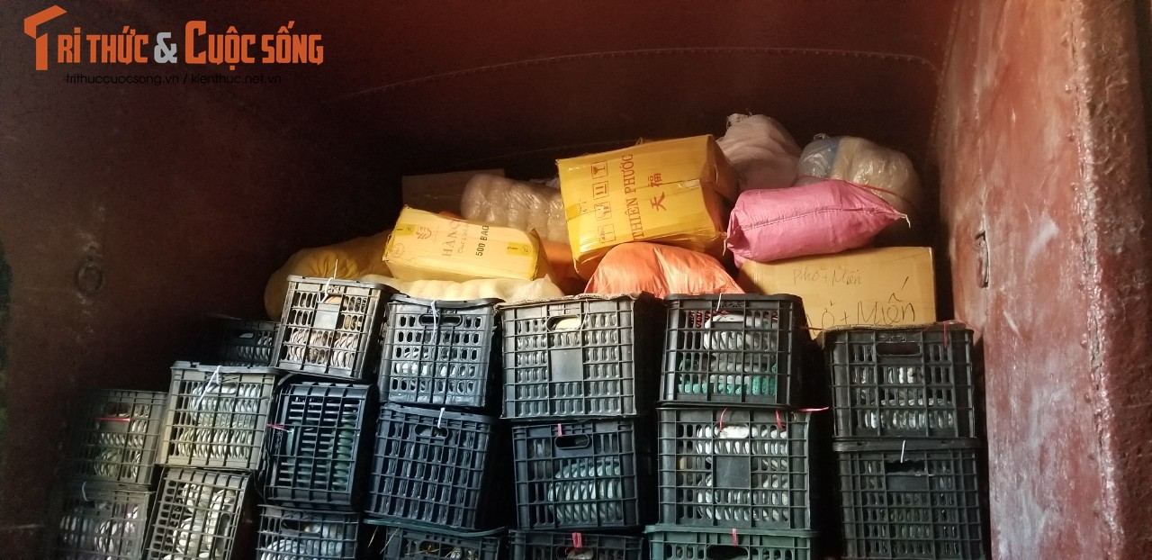 """400 tan hang hoa, nhu yeu pham len duong vao Nam """"tiep suc"""" chong dich COVID-19-Hinh-4"""