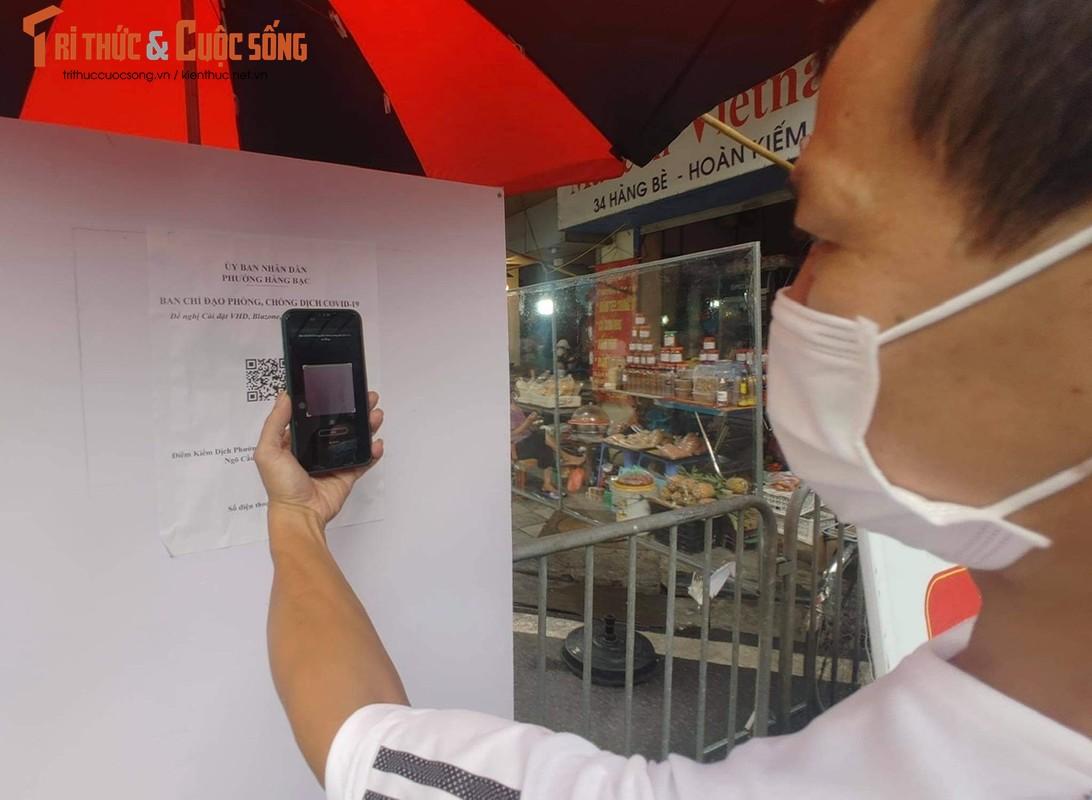 """Cho """"nha giau"""" Hang Be mo lai: Nguoi mua ban phai quet QR, khai bao thong tin-Hinh-3"""