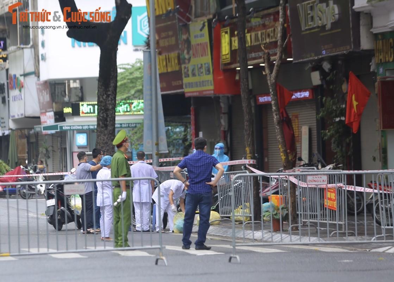 Ha Noi phong toa pho Tran Nhan Tong vi phat hien ca F0 moi-Hinh-10
