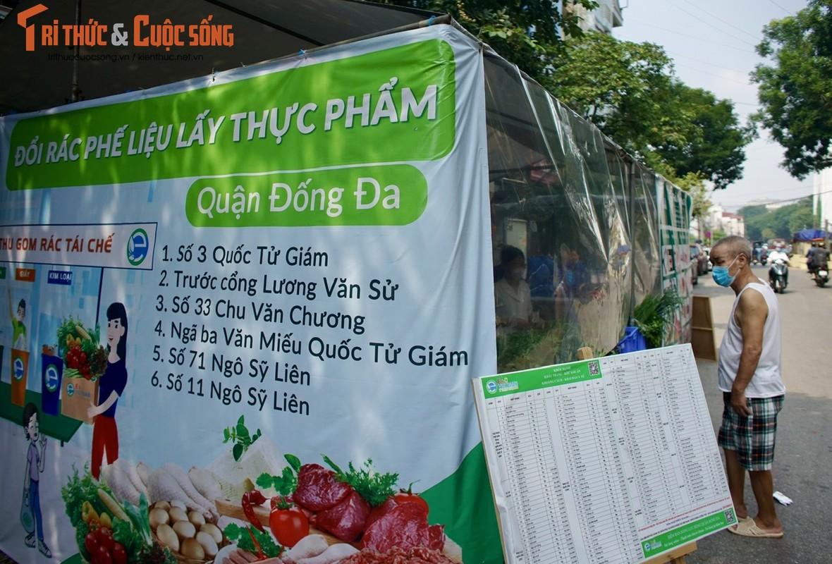 Ha Noi: Ky la gian hang doi giay vun, vo lon... lay thuc pham sach-Hinh-9
