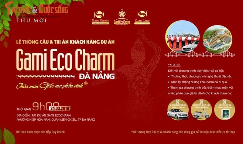 Le thong cau va Tri an khach hang du an Gami Ecocharm – Thoa man giac mo phon vinh
