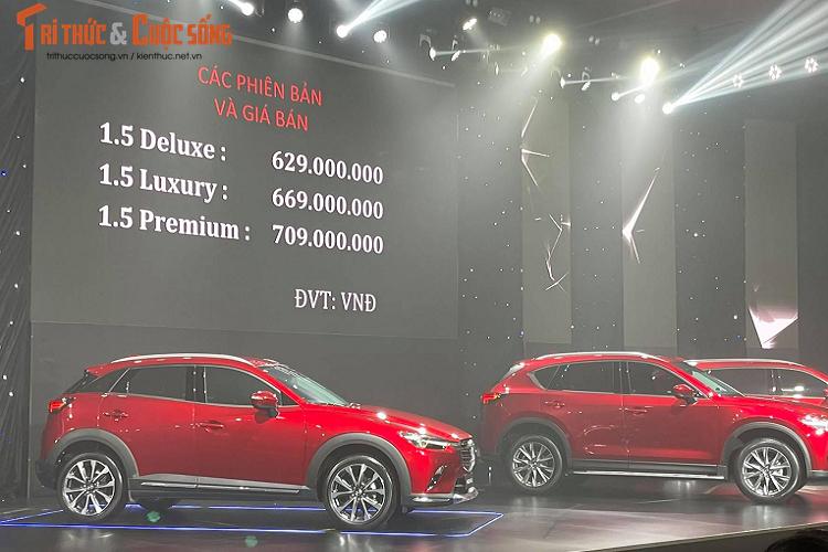 Mazda CX-3 va CX-30, cao nhat 899 trieu dong tai Viet Nam-Hinh-3