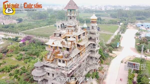 Lao nong chi hon 50 ty xay biet thu ky quai nhat Trung Quoc-Hinh-4