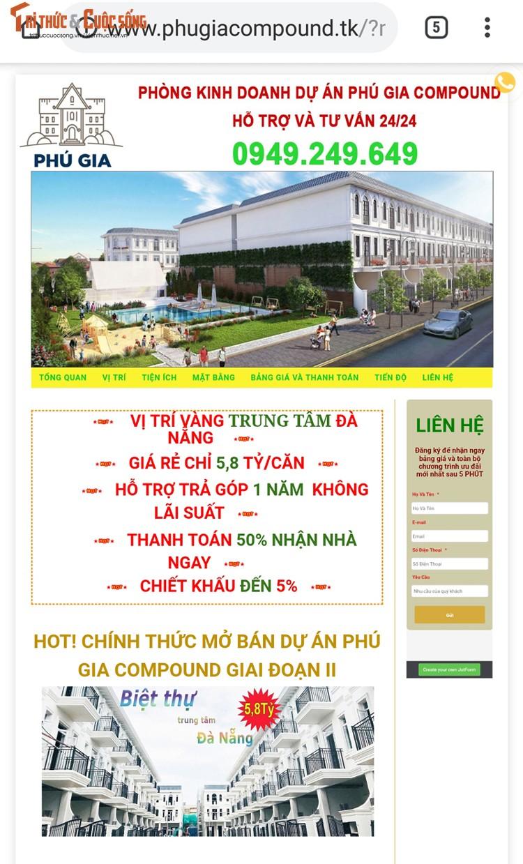 Du an Phu Gia Compound chua du dieu kien van mo ban