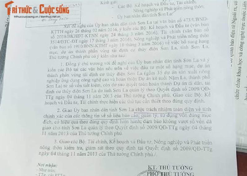 Son La: Bat thuong Du an ke suoi Nam La nghi su dung sai nguon von Nha nuoc?-Hinh-2