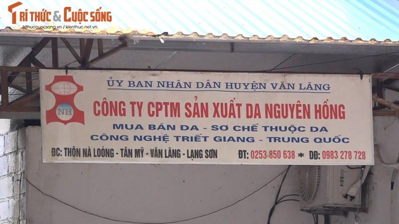 Cong ty Nguyen Hong bi thanh tra vi gay o nhiem moi truong-Hinh-5
