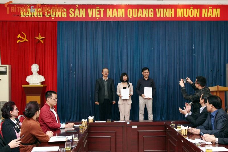 Thanh lap Bao Tri thuc va Cuoc song, bo nhiem ba Nguyen Thi Mai Huong lam Pho Tong bien tap phu trach-Hinh-2