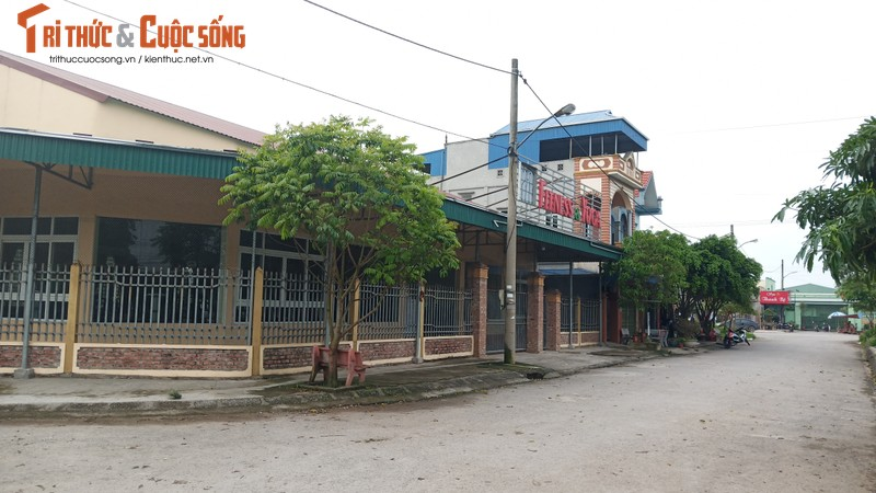 Phu phep cum cong nghiep thanh khu dan cu o Vu Ban: Huyen dang kiem tra