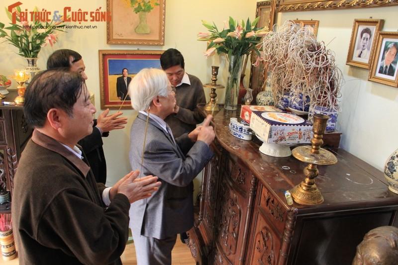 Chu tich Phan Xuan Dung tham, chuc Tet nguyen Lanh dao Lien hiep cac Hoi KH&KT Viet Nam-Hinh-4