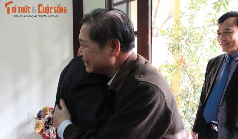 Chu tich Phan Xuan Dung tham, chuc Tet nguyen Lanh dao Lien hiep cac Hoi KH&KT Viet Nam-Hinh-5