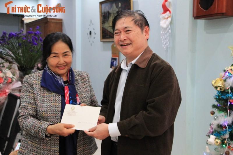Chu tich Phan Xuan Dung tham, chuc Tet nguyen Lanh dao Lien hiep cac Hoi KH&KT Viet Nam-Hinh-6