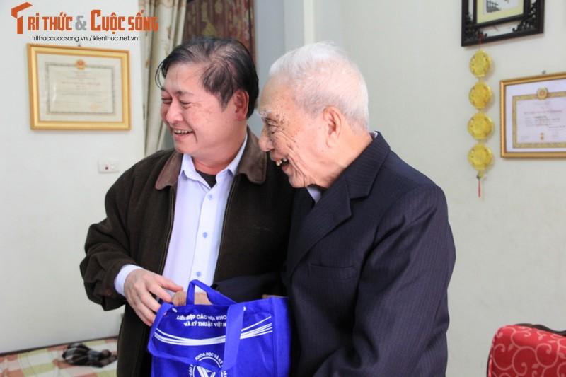 Chu tich Phan Xuan Dung tham, chuc Tet nguyen Lanh dao Lien hiep cac Hoi KH&KT Viet Nam-Hinh-8