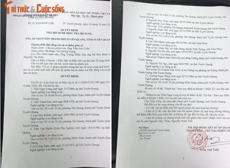 """Tuyen Quang: 2 nam khong xu xong vu an """"bat qua tang danh bac""""-Hinh-2"""