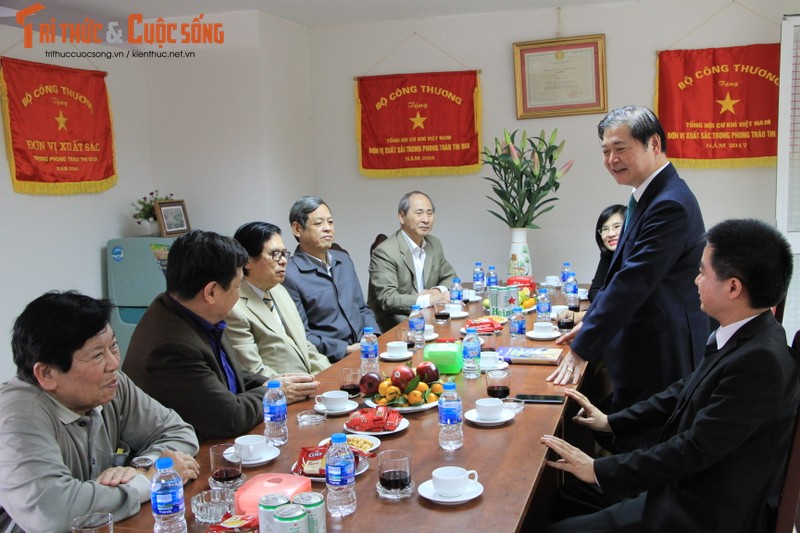 "Chu tich Phan Xuan Dung: ""Tong hoi Co khi Viet Nam luon khang dinh duoc tam voc"""