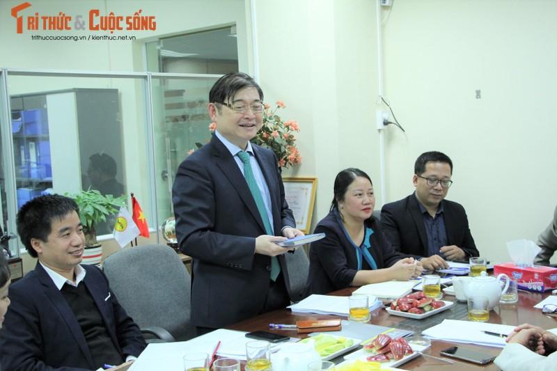 TSKH Phan Xuan Dung lam viec voi Hoi KHKT Duc – Luyen kim Viet Nam-Hinh-2
