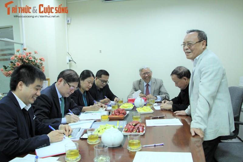 TSKH Phan Xuan Dung lam viec voi Hoi KHKT Duc – Luyen kim Viet Nam