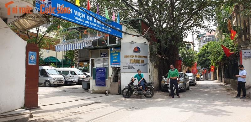 Benh vien da khoa Trang An ton tai trai phep giua trung tam Ha Noi