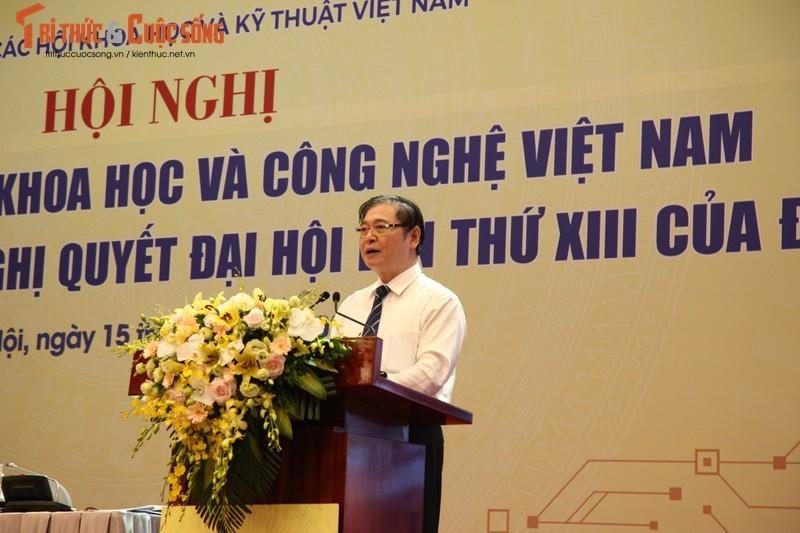 Chu tich VUSTA Phan Xuan Dung phat bieu, tiep thu chi dao cua Thu tuong