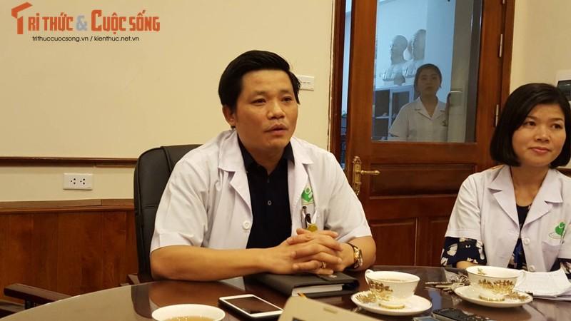 BV Phu san Ha Noi noi gi vu bao ve danh nguoi nha benh nhan?